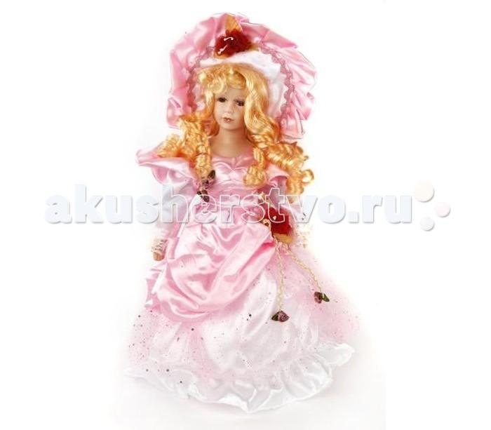 Angel Collection Кукла фарфоровая Адэлина 16 40.6 смКукла фарфоровая Адэлина 16 40.6 смКаждая кукла, выпущенная в серии Angel Collection, обладает неповторимым образом - принцессы, феи, маленькие девочки, роскошные невесты и т.д. Изысканные наряды и очаровательная матовость фарфора превращают этих кукол в настоящее произведение искусства.   Куклы сделаны из уникальной голубой глины, добываемой только в провинции Tai-Nan Shin, Тайвань.  Фарфоровая красавица - это не просто игрушка, а также украшение для интерьера или ценный экспонат коллекции.  Высота куклы: 40.6 см<br>