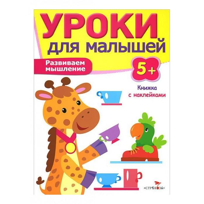 Книжки с наклейками Стрекоза Уроки для малышей Развиваем мышление 978-5-9951-2052-0