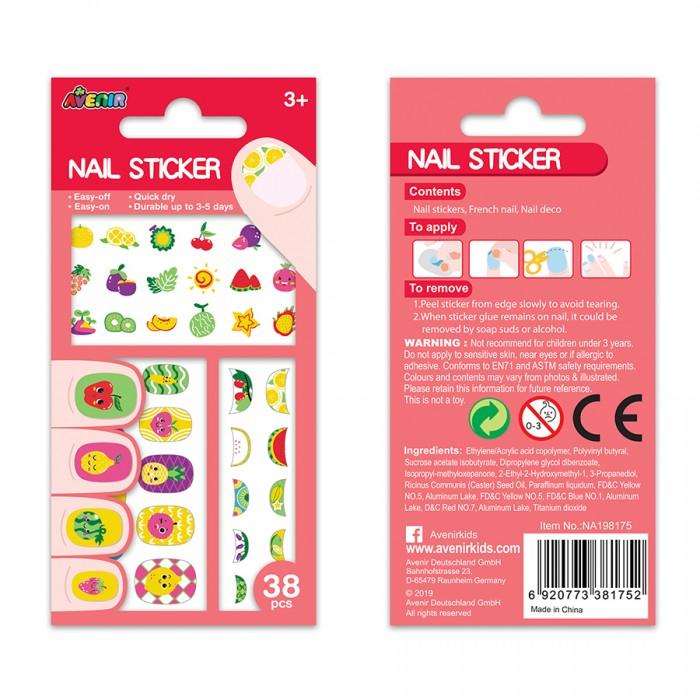 Купить Avenir Наклейки на ногти Фрукты в интернет магазине. Цены, фото, описания, характеристики, отзывы, обзоры