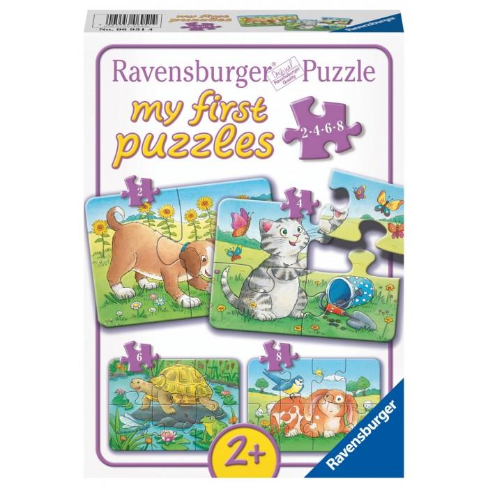 Купить Ravensburger Пазл Милые животные 4 шт. в интернет магазине. Цены, фото, описания, характеристики, отзывы, обзоры