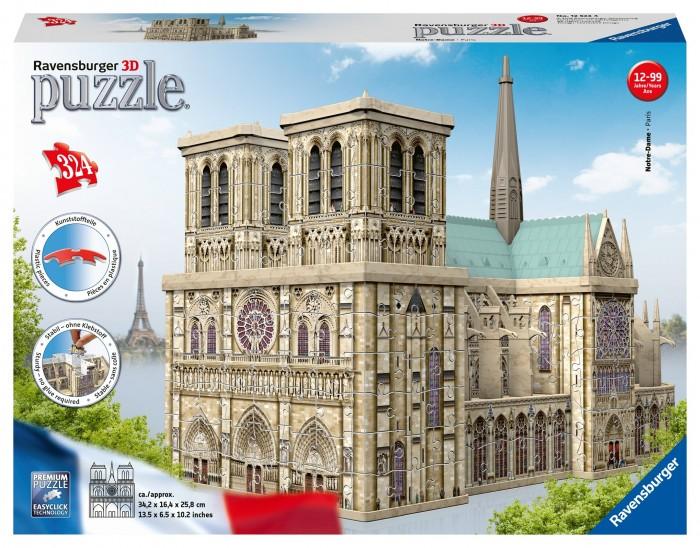 Купить Ravensburger 3D Пазл Нотр Дам 216 элементов в интернет магазине. Цены, фото, описания, характеристики, отзывы, обзоры