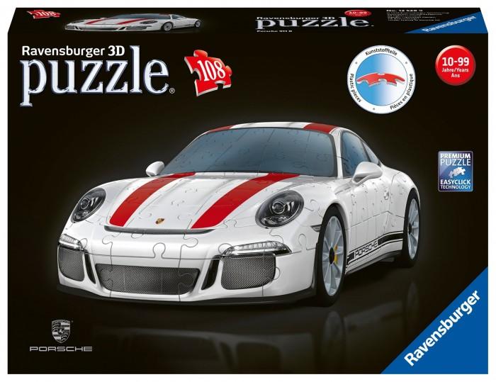 Купить Пазлы, Ravensburger 3D Пазл Porsche 911R 108 элемента