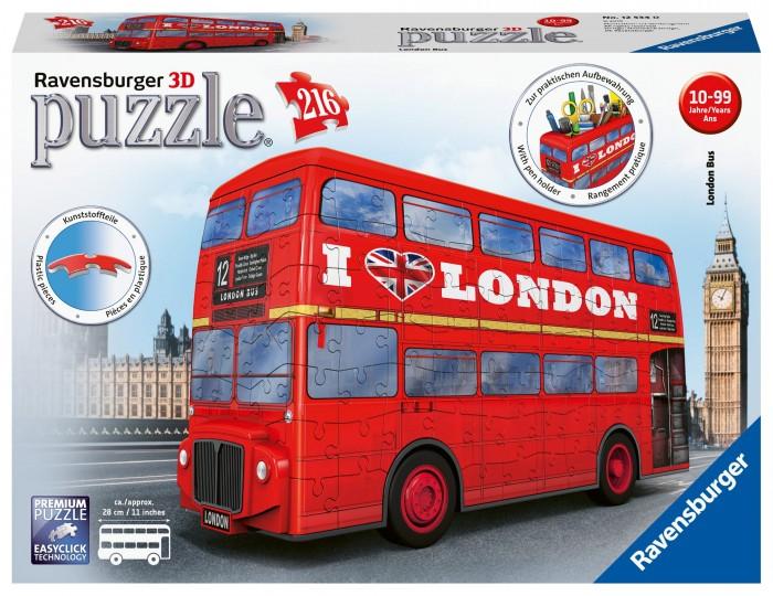 Пазлы Ravensburger 3D Пазл Лондонский автобус 216 элементов