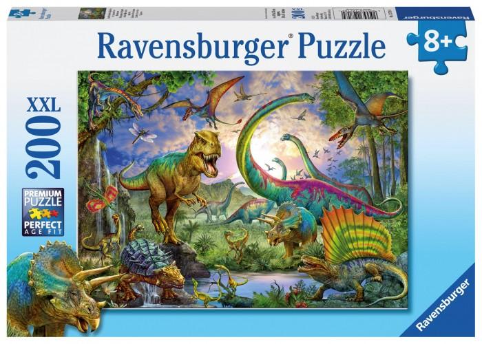 Купить Пазлы, Ravensburger Пазл Мир динозавров 200 элементов