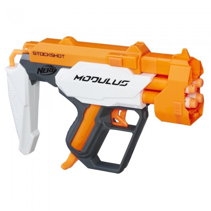 Купить Игрушечное оружие, Nerf Hasbro Бластер Nerf Modulus StockShot