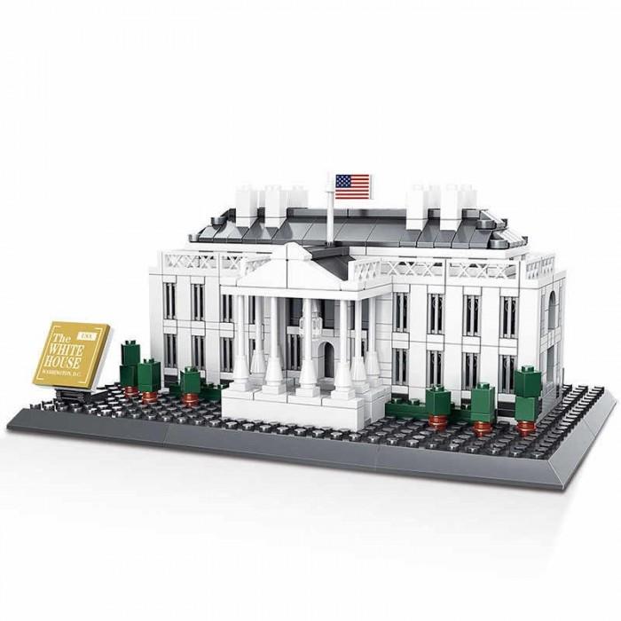 Конструкторы Wange Шедевры мировой архитектуры Белый дом (803 элемента)