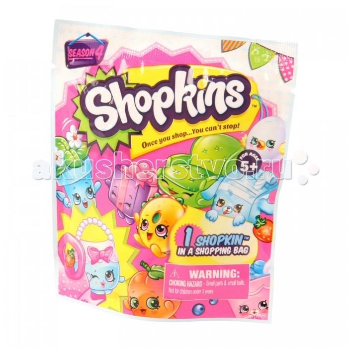 Игровые фигурки Shopkins Фольгированный пакетик с 1 героем