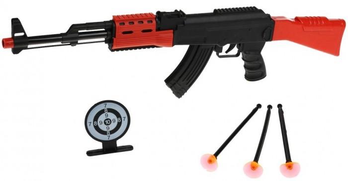 Игрушечное оружие Играем вместе Автомат АК-47 игрушечное оружие играем вместе автомат игрушечный м 16