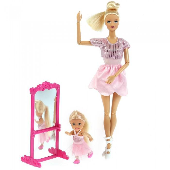 Фото - Куклы и одежда для кукол Карапуз Кукла София с дочерью Балерины 29 см куклы и одежда для кукол карапуз кукла принцесса софия 46 см 14666pri ru