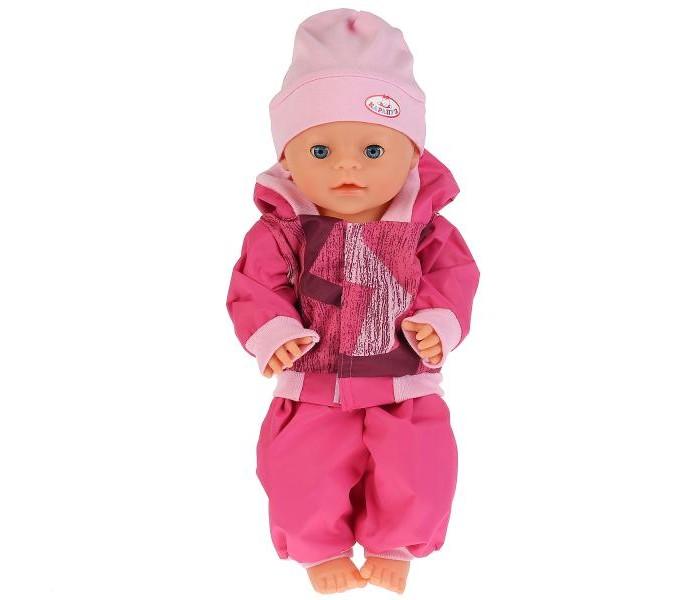 Купить Куклы и одежда для кукол, Карапуз Одежда для кукол 40-42 см Комплект с шапочкой