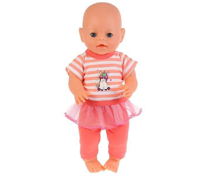 Купить Куклы и одежда для кукол, Карапуз Одежда для кукол 40-42 см Комплект Единорог