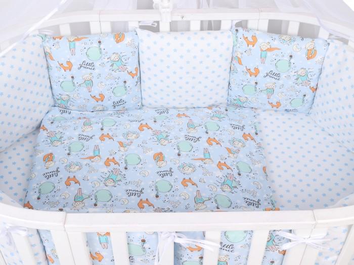 Купить Бортики в кроватку, Бортик в кроватку AmaroBaby Маленький принц 12 предметов