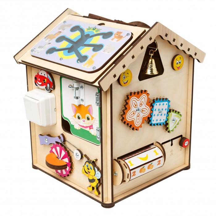 Картинка для Деревянная игрушка Нумикон Игры Монтессори БизиДом Зверята