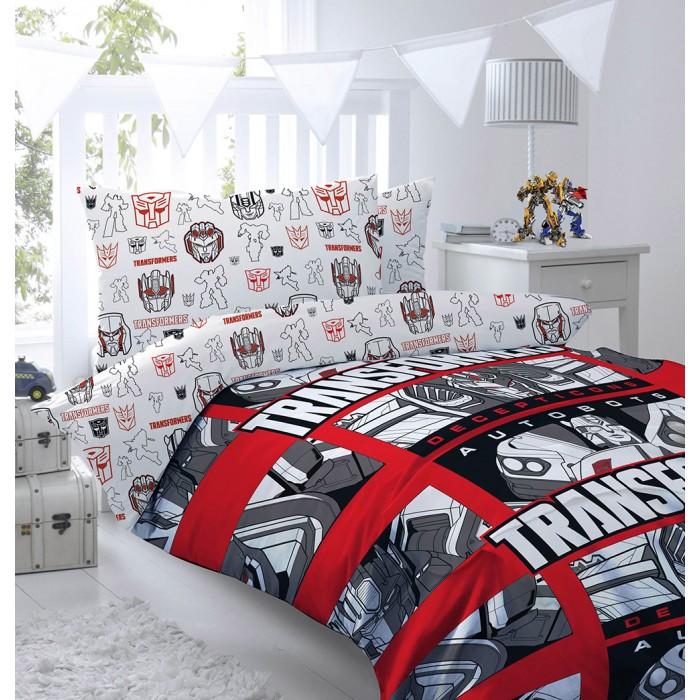 Купить Постельное белье 1.5-спальное, Постельное белье Mona Liza Transformers Decepticons (3 предмета)