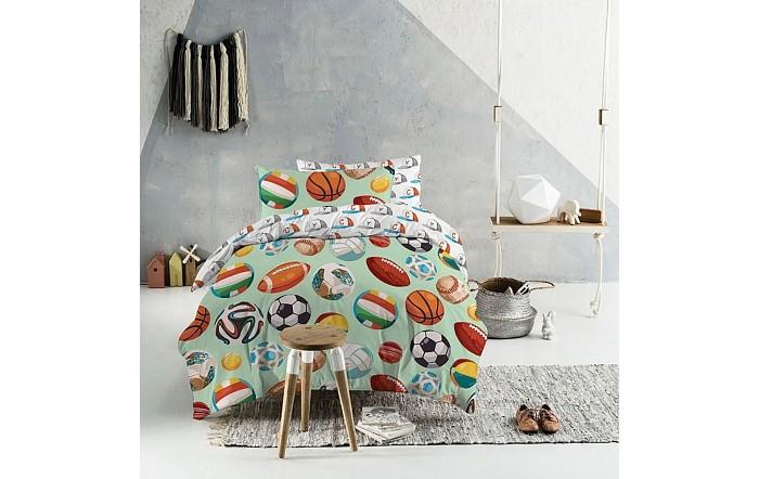 Постельное белье 1.5-спальное Mona Liza Мячи (3 предмета)