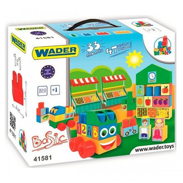 Купить Конструкторы, Конструктор Wader (33 элемента) 41581