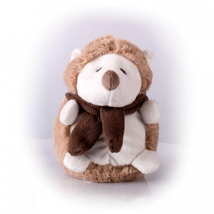 цена на Мягкие игрушки Button Blue Ежик в шарфике 20 см