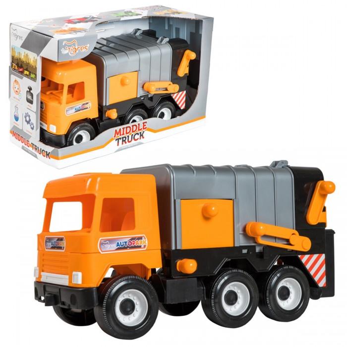 Машины Tigres Мусоровоз Middle truck city