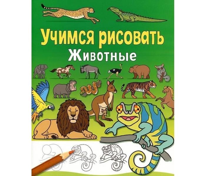 цена на Раннее развитие Стрекоза Учимся рисовать Животные