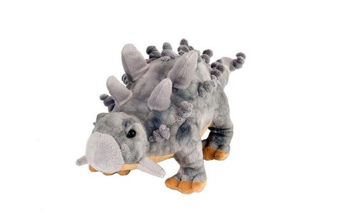 Картинка для Мягкие игрушки Wild Republic Plush динозавр Анкилозавр 25 см