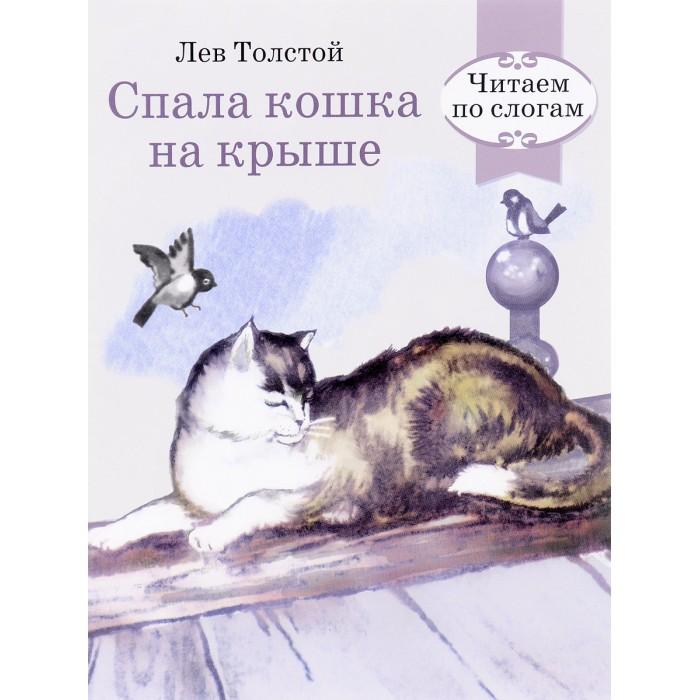 Обучающие книги Стрекоза Читаем по слогам Спала кошка на крыше уильямс т кошка на раскаленной крыше стеклянный зверинец