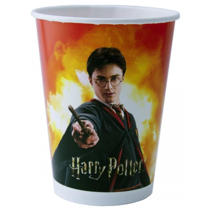 Товары для праздника Nd Play Harry Potter Набор бумажных стаканов 6 шт. 250 мл цена 2017