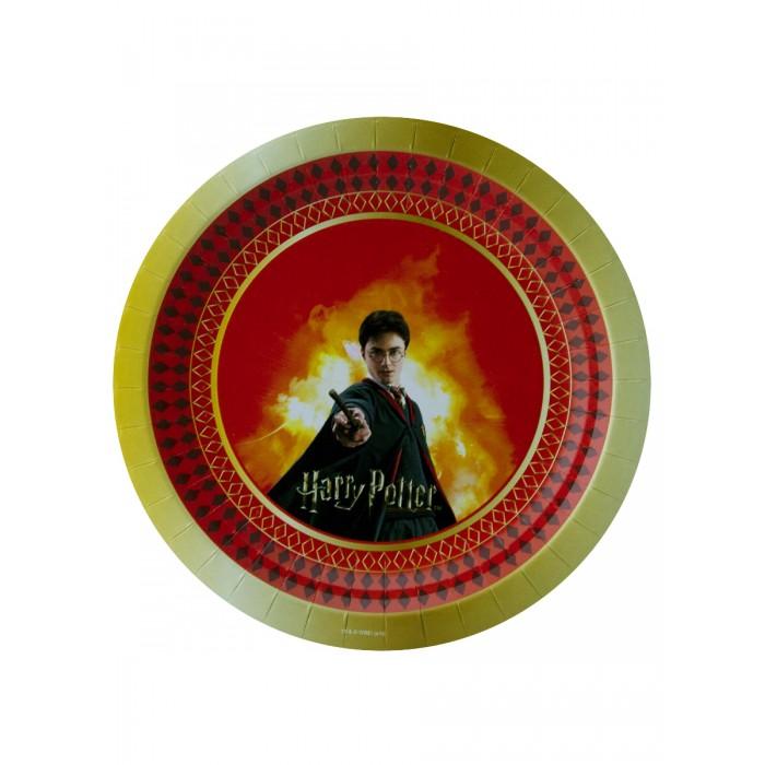 Товары для праздника Nd Play Harry Potter Набор бумажных тарелок 6 шт. набор бумажных форм для кексов красный узор диаметр дна 5 см 50 шт