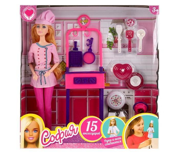 Купить Куклы и одежда для кукол, София и Алекс Кукла София-повар с аксессуарами 29 см