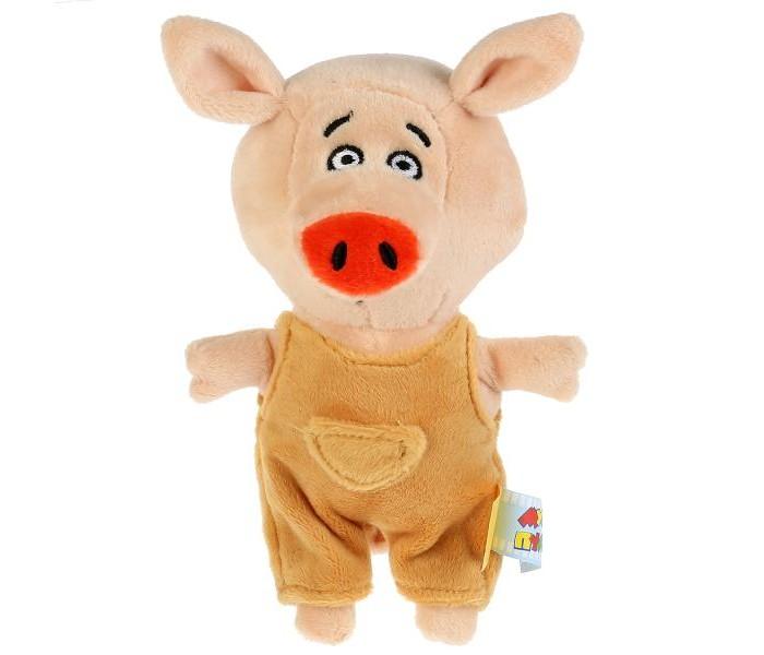 Купить Мягкие игрушки, Мягкая игрушка Мульти-пульти Поросёнок Коля 15 см