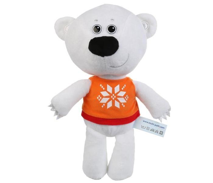 Картинка для Мягкие игрушки Мульти-пульти Медвежонок Белая Тучка 20 см