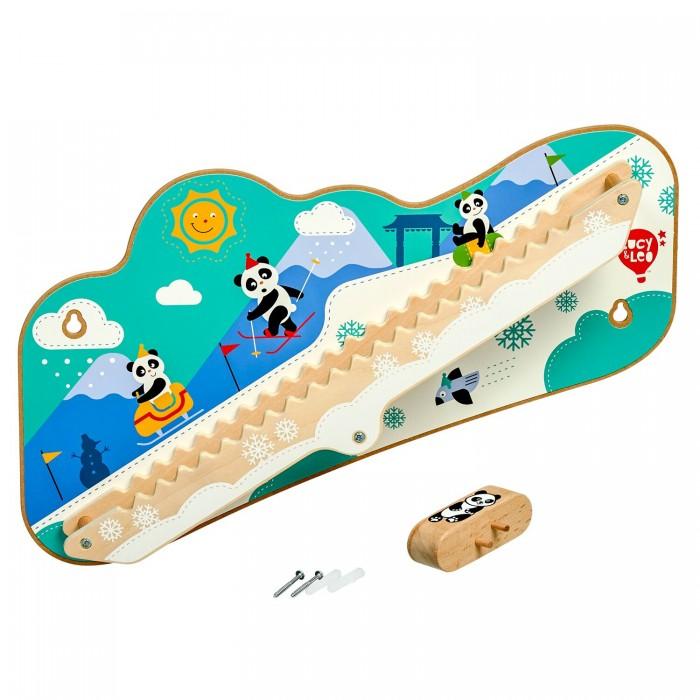 Фото - Деревянные игрушки Lucy & Leo Горка настенная Зимнее приключение 101 зимнее приключение