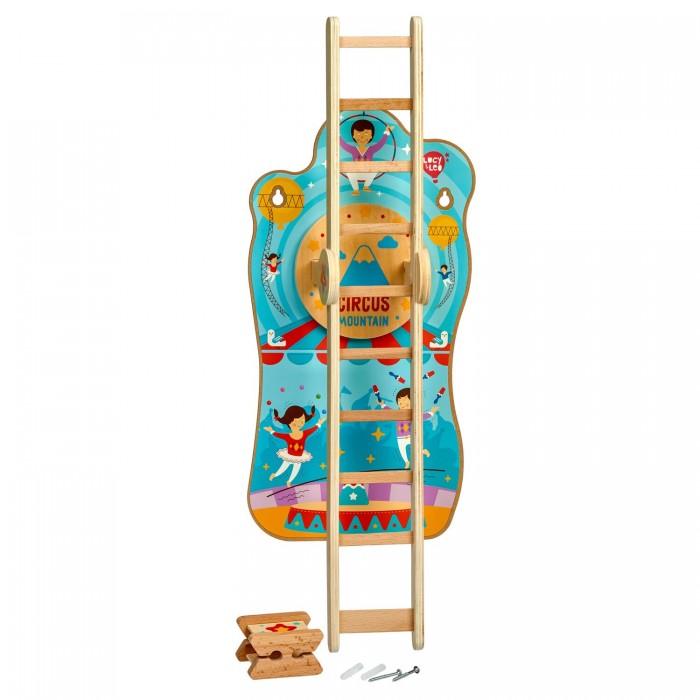 Купить Деревянные игрушки, Деревянная игрушка Lucy & Leo Горка настенная Цирк на горе