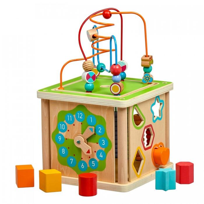Картинка для Деревянные игрушки Lucy & Leo Занимательный большой умный куб