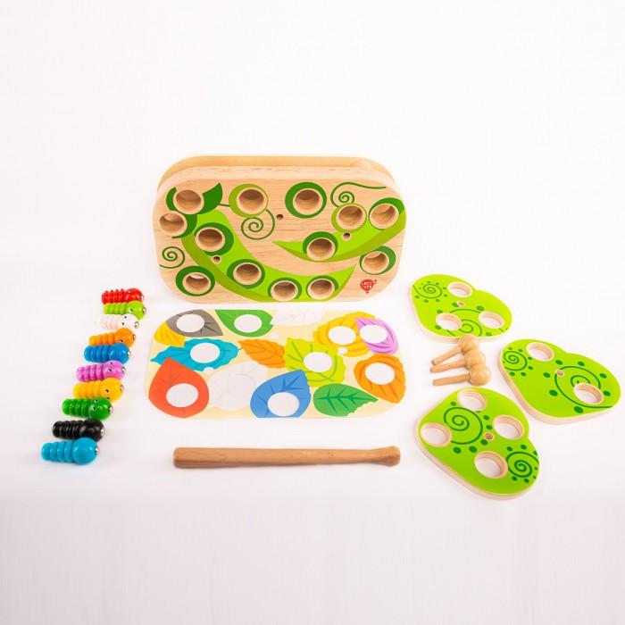 Купить Деревянные игрушки, Деревянная игрушка Lucy & Leo Настольная игра Гусеницы