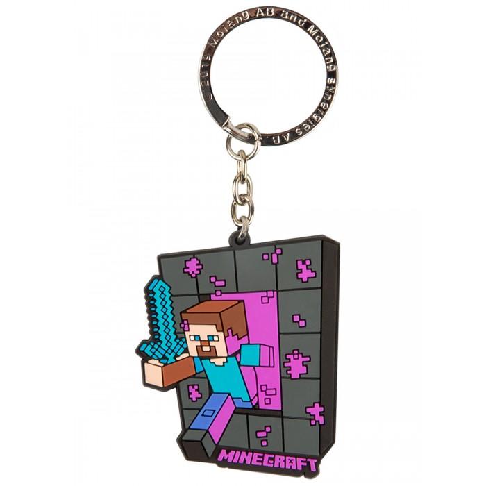 Игровые фигурки Minecraft Брелок Craftable Portal Steve