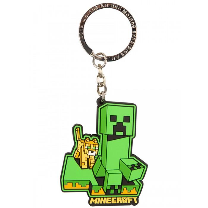 Игровые фигурки Minecraft Брелок Craftable Creeper Chase