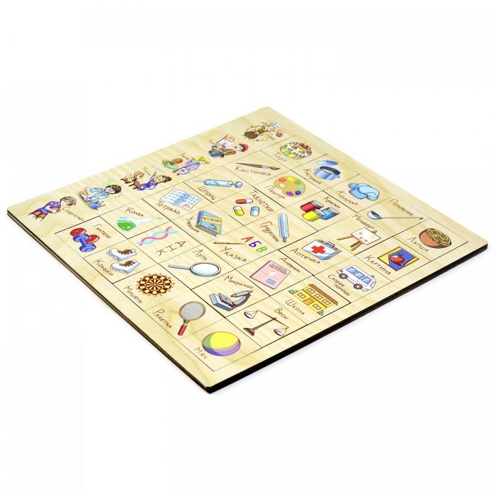 Купить Деревянные игрушки, Деревянная игрушка Paremo Игровой набор Ассоциации Профессия