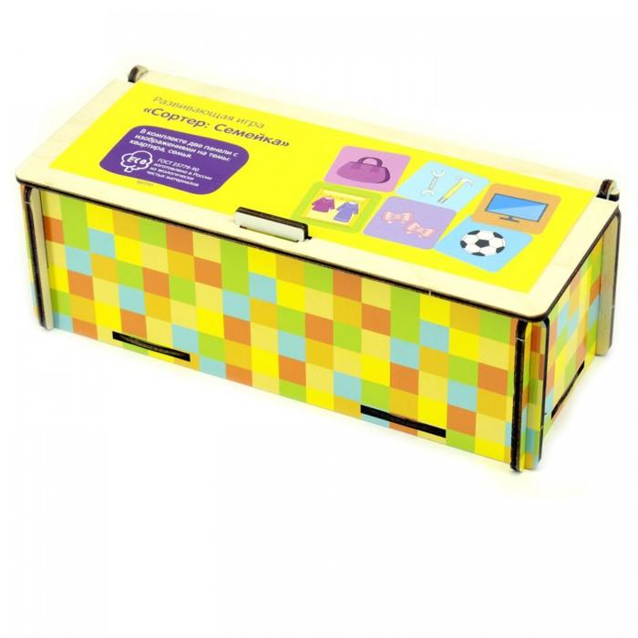 Фото - Деревянные игрушки Paremo Игровой набор Сортер Семья-дом деревянные игрушки paremo игровой набор чей хвост