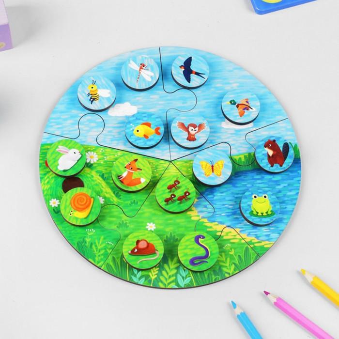 Деревянные игрушки Paremo Игровой набор Среда обитания