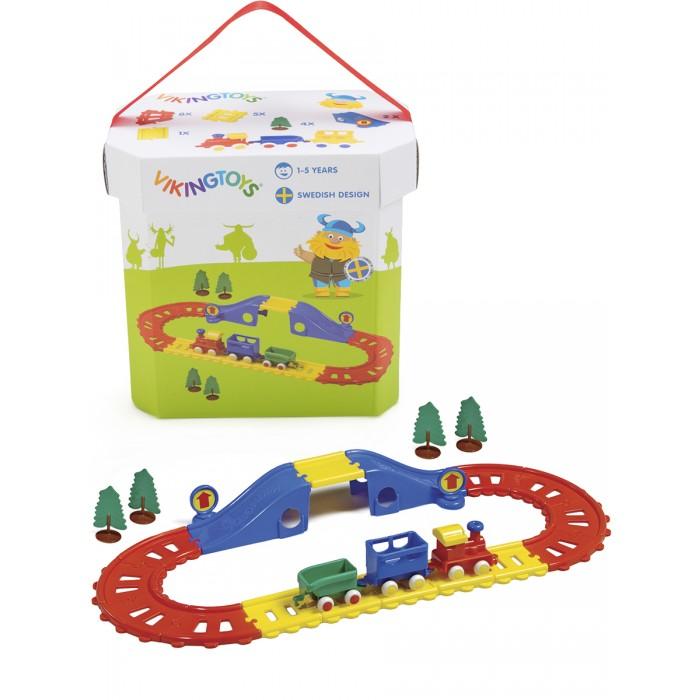 Железные дороги Viking Toys Набор City Железная дорога 21 элемент