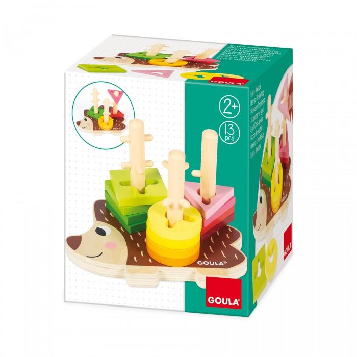 Купить Деревянные игрушки, Деревянная игрушка Goula Сортер Ежик