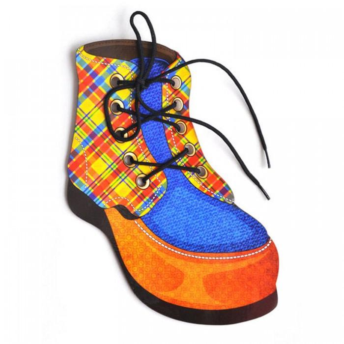 Деревянные игрушки Paremo Игровой набор Шнуровка Ботинок
