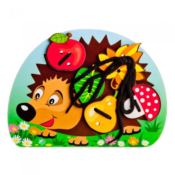 Фото - Деревянные игрушки Paremo Игровой набор Шнуровка Еж деревянные игрушки paremo игровой набор чей хвост
