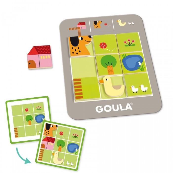 Деревянные игрушки Goula Логическая игра Ферма