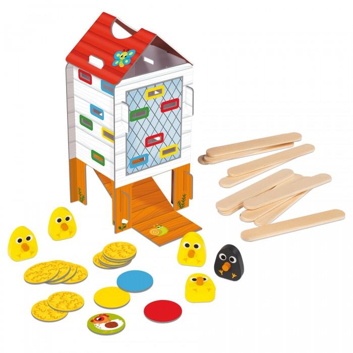 Деревянные игрушки Goula Игра Веселый курятник