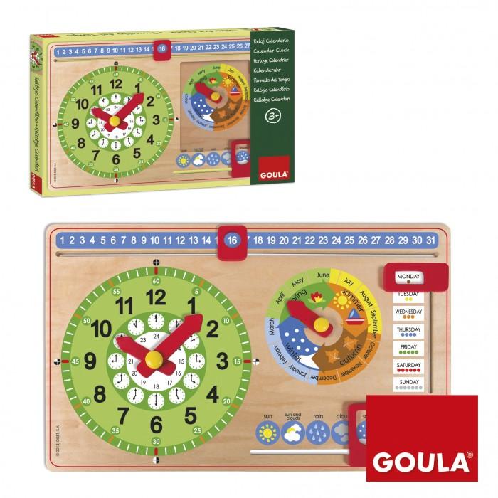 Деревянные игрушки Goula Мой календарь на английском языке