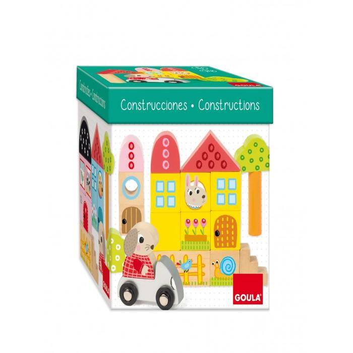 Купить Деревянные игрушки, Деревянная игрушка Goula Игровой набор Лес
