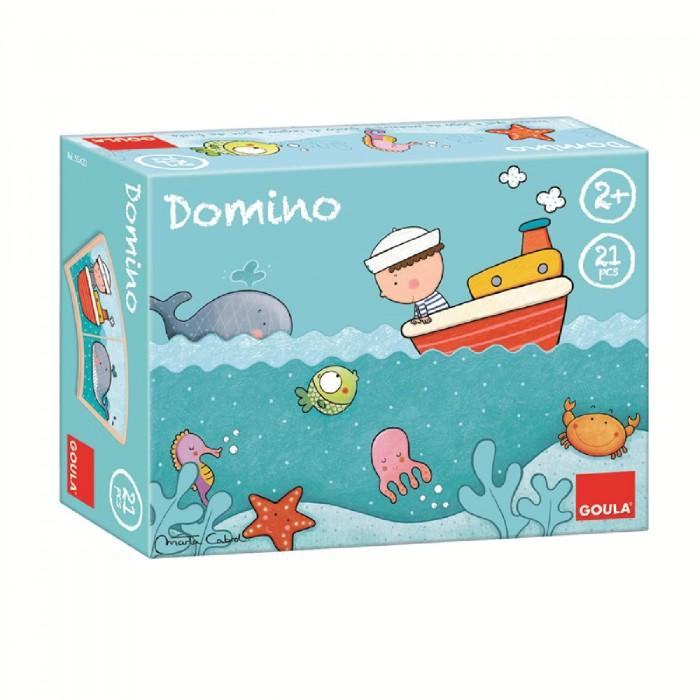 Деревянные игрушки Goula Домино Море