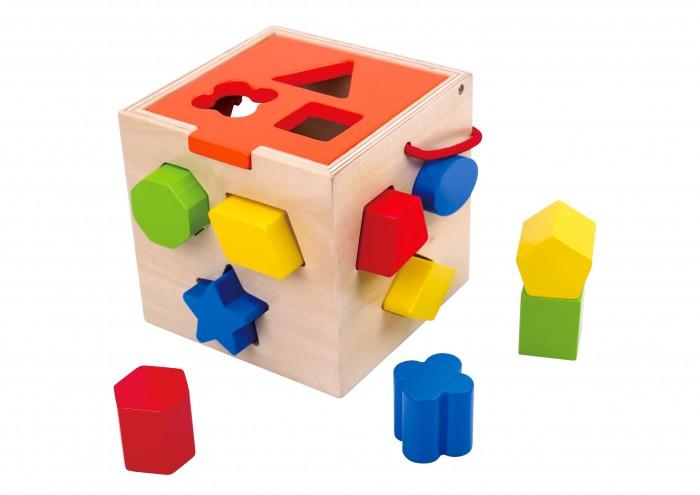 Фото - Деревянные игрушки Tooky Toy Сортер деревянные игрушки tau toy головоломка никитина собери квадрат 7 28х28 см
