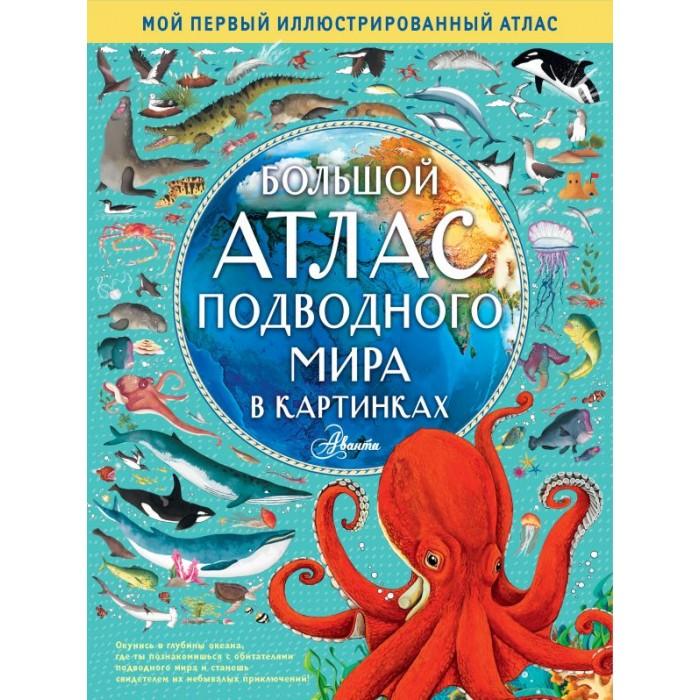 Атласы и карты Издательство АСТ Большой атлас подводного мира в картинках недорого